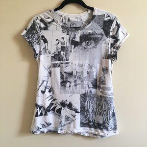 LULULEMON Rare Vintage Print UNICORN Shirt